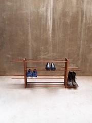 Shoe rack in different sizes and woods (Schuhregal in verschiedenen Größen und Hölzern) by Tidyboy (tidyboy892) Tags: furniture furnituredesign woodenfurniture shoerack schuhregal entrancewayideas shoes tidyboy interiordesign