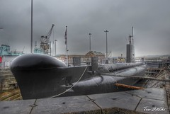 HMS Ocelot at Chatham Historic Dockyard (The Two Doctors) Tags: dockyards chatham heritage submarine ships