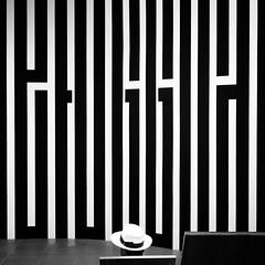 POP ART (bhs-photo) Tags: bnw noiretblanc sw monochrome minimal popart artwatching museum nice mamac art kunst