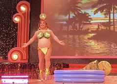 IMG_0404 (danimaniacs) Tags: rebaareba dragqueen misstexas pageant swimsuit competition costume jalapeno bikini