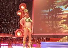 IMG_0401 (danimaniacs) Tags: rebaareba dragqueen misstexas pageant swimsuit competition costume jalapeno bikini