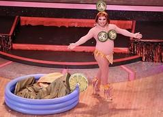 Mike8685088085933 (danimaniacs) Tags: rebaareba dragqueen misstexas pageant swimsuit competition costume pool inflatable jalapeno bikini