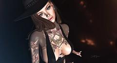 ʸᵒᵘ ᵖᵘᵗ ᵃ ˢᵖᵉˡˡ ᵒⁿ ᵐᵉ...... (scarlettrose.karsin) Tags: tattoo vegastattoo bodyart bodyink legacy genusproject sl secondlife sexy magic doux