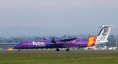 G-FLBC Dash 8, Edinburgh (wwshack) Tags: bombardier dhc8 dash8 edi egph edinburgh edinburghairport flybe lothian gflbc
