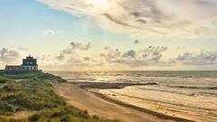 Beautiful Beach House Panorama (peterrenquist) Tags: oceanview aussicht meer strand sonne wolken leidenschaft sehnsucht strandhaus lights beautiful summer sun sky clouds sea danmark
