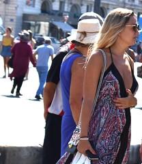 Tourists (thomasgorman1) Tags: tourists woman people public vieuxport marseille france nikon candid street streetphotos streetshots port