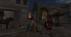 Rollenspiel in Baiae 73 BC (Del-ka Aedilis) Tags: roleplay rollenspiel secondlife rome rom spartacus