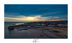 Sunrise (David R Townsend) Tags: seascape sea ocean sunrise colours colors seaside beach lighthouse