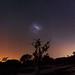Magellanic Clouds at Herron Point, Western Australia