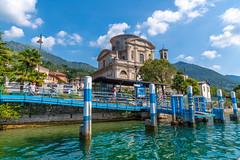 Lago d'Iseo 2019 - Sale Marasino (karlheinz klingbeil) Tags: d850 eglise nikon church see lago italy italia lake lagoiseo kirche 2470 tamron2470 chiesa water wasser italien