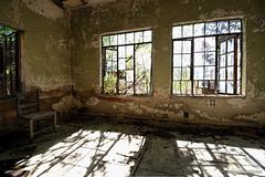 Safe Room (gregador) Tags: newcastle saferoom decayed abandoned industry windows light nature urbex urbanexploring urbanexploration