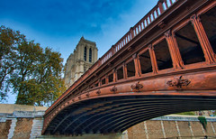 Beautiful Paris (jeromedelaunay_paris) Tags: river bridge seine colors cityscape cities city clouds sky church notredame cathedralenotredamedeparis cathedral cathedrale europe france iloveparis parisjetaime parisan paris