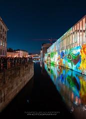 James-Simon-Galerie (Marcus Klepper) Tags: berlin festivaloflights jamessimongalerie museumsinsel night spree germany fol sky stars reflection