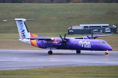 G-PRPK ~ 2019-10-14 @ BHX (2) (www.EGBE.info) Tags: gprpk birminghamairport bhx egbb aircraftpix generalaviation aircraftpictures airplanephotos aerroplane aeroplanepictures cvtwings planespotting aviation davelenton httpwwwegbeinfo canoneos750d 14102019 dehavilland dhc8 flybe