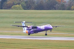G-PRPF ~ 2019-10-14 @ BHX (11) (www.EGBE.info) Tags: gprpf birminghamairport bhx egbb aircraftpix generalaviation aircraftpictures airplanephotos aerroplane aeroplanepictures cvtwings planespotting aviation davelenton httpwwwegbeinfo canoneos800d 14102019 dehavilland dhc8 flybe