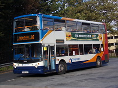 Stagecoach ADL Trident (ADL ALX400) 18404 KX06 JYF (Alex S. Transport Photography) Tags: bus outdoor road vehicle stagecoach stagecoachmidlandred stagecoachmidlands alx400 alexanderalx400 dennistrident trident adltrident adlalx400 route16 18404 kx06jyf