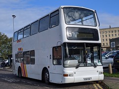 Hamilton's Coaches Volvo B7TL (Plaxton President) X581 EGK (Alex S. Transport Photography) Tags: bus outdoor road vehicle pvl181 volvob7tl plaxton president hamiltons x581egk