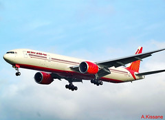 AIR INDIA B777 VT-ALP (Adrian.Kissane) Tags: 36314 21112009 b777 vtalp heathrow london lhr airindia