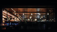 Kunsthalle (edi_s) Tags: vienna austria kunsthalle restaurant bar evening night atmosphere warm dark light lights city urban street travel tourism dinner sony a73 a7 iii 35mm f18 wien abend nacht licht