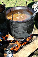 SOUP (MIKECNY) Tags: pot kettle soup food cook fire heatup americanrevolution oldstonefortdays schoharie newyork