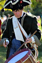 COLONIAL DRUMMER (MIKECNY) Tags: drum music beat soldier muster schoharie schoharievalley colonial oldstonefortdays americanrevolution
