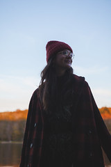 Josée (Adrian Schaap) Tags: portrait sunset golden model girl fashion autumn fall colours orange blue skin tones canada nova scotia novascotia ns explorens explore shadow dark light glow canon 5dmk2