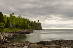 Split Rock Lighthouse (rschnaible) Tags: lake superior circle tour minnesota outdoor landscape mid west water rock rocky forest trees woods split lighthouse history historical work production transportation architecture building