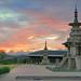 Crépuscule à Gyeongju (Corée du sud)