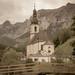 Kirche in Ramsau.
