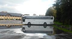 Underwater Bus & Coach Park (andreboeni) Tags: brentthomas lodmoor coachpark flood flooding puddle bus coach autocar car cars buses coaches omnibus omnibusse weymouth reflection
