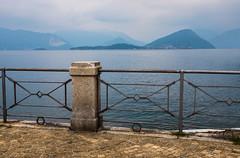 Lake Maggiore (Earthman.) Tags: lagomaggiore laveno lakemaggiore landscape italy italia lake mist misty water earthman x100t tonalperspective composition