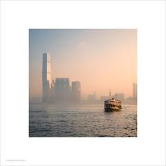 Star Ferry, Hong Kong (Ian Bramham) Tags: hongkong starferry victoriaharbour twinklingstar internationalcommercecentre icc he cheapest