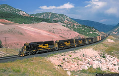 Helper Helper (jamesbelmont) Tags: riogrande sd40t2 drgw sd50 railroad utah rsilway train thistle locomotive helper spanishforkcanyon soldiersummit