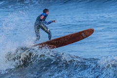surfer (coffee robbie..PROTECTED BY PIXSY) Tags: surf surfer surfboard nikon nikond500 sigma sigma150500mm bigma youghal eire eochill europe cork coast sea seascape seaside color colour