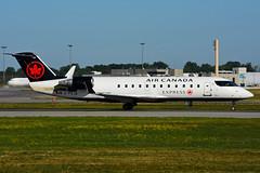 C-FEJA (Air Canada EXPRESS - JAZZ) (Steelhead 2010) Tags: aircanada aircanadaexpress jazz canadair bombardier crj crj200 yul creg cfeja