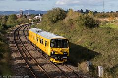 950001 at Norton [2Q08] 16.10.2019 (Wolfie2man) Tags: trains norton dmu networkrail dieselmultipleunit class150 950001 worcestershirerailways 2q08