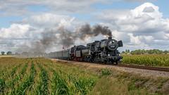 Beekbergen VSM 52 3879-50 307 passagierstrein Loenen (Rob Dammers) Tags: train steam locomotive nl naar terug toen 2019 dampf locomotief vsm trein stoom