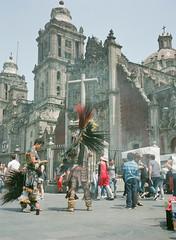 Edit -1 (Dane Van) Tags: mexico mexicocity ciudaddemexico cdmx zocalo street church candid fuji fujifilm ga645 ga645i pro400h film 120 mediumformat