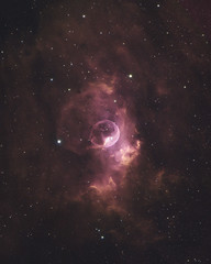 The Bubble Nebula (AstroBackyard) Tags: astrophotography bubble nebula astronomy space stars night sky deep universe telescope ngc 7635 mono ccd