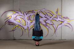 Head over heals (Toftus Photography) Tags: tromsø troms norway no norge nordnorge northernnorway model modell portrett portrait farve color training trening træning workout fitnes muscles health male maledancer mann herre breakdance hiphop acrobatics art kunst artwork kunstverk grafitti
