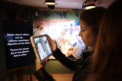 Musée Fournaise sur l'Ile des Impressionnistes à Chatou (Département des Yvelines) Tags: muséefournaisesurliledesimpressionnistesàchatou2109 muséefournaise chatou augusterenoir peinture art patrimoineculturel sortie visite musée balade promenade réalitévirtuelle tablette ipad numérique