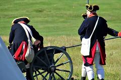 PREPARING TO FIRE (MIKECNY) Tags: prepare cannon artillery colonial uniform reenactor reenactment schoharie american revolution schoharievalley