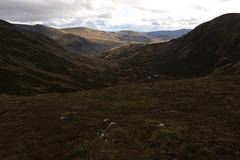 Highland Glens (steve_whitmarsh) Tags: aberdeenshire scotland scottishhighlands highlands cairngorms landscape topic mountains hills glen glenshee