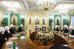 13. Заседание Священного Синода РПЦ 17.10.2019