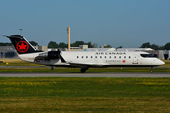 C-GJZZ (Air Canada EXPRESS - JAZZ) (Steelhead 2010) Tags: aircanada aircanadaexpress jazz canadair bombardier crj crj200 yul creg cgjzz