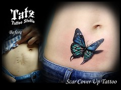 2019101701 (tatzstudio) Tags: tatz tattoo studio hk hongkong tattoos shop coverup retouch touchup rework butterfly scar
