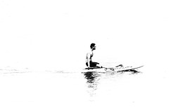well-deserved rest (Angelo Petrozza) Tags: welldeserved rest adelaide glenelg mare sea blackandwhite biancoenero bw man uomo surf tavola surfboard