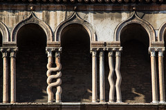 Ferrara Cathedral, Italy (Billy Wilson Photography) Tags: cycling europe adventure 2019 italy church religious cathedral columns ferrara old architecture catholic roman historic