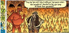 Happy 17th of #OctNoFur! (your vegan) Tags: bizarro fashion fur leather devil hell yourveganfallacyis animalrights socialjustice vegan octnofur