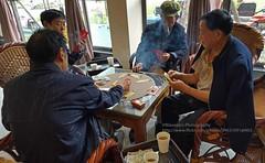 near Dayi, wedding party gambling (blauepics) Tags: china sichuan province provinz dayi city stadt food nahrungmittel essen nutrition chinese chinesisch dishes gerichte lunch entertainment unterhaltung wedding party hochzeit hochzeitsfeier feier bauern farmer gambling spielen